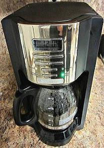 Programmable 12 cup coffee machine