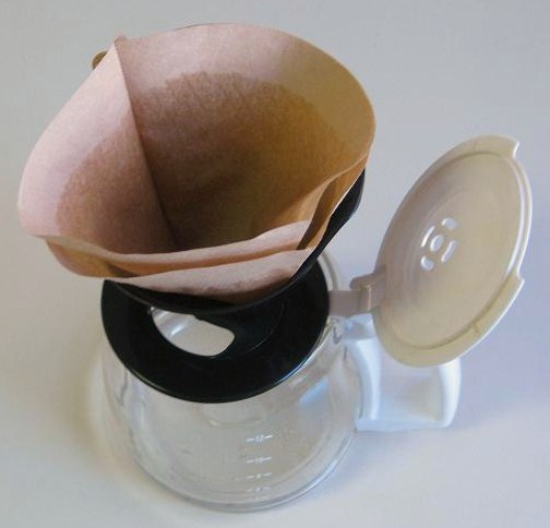 Pour Over Coffee Filter Cone Image
