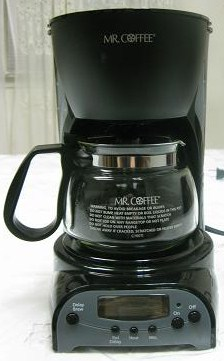 Mr Coffee 4 Cup Programmable Coffeemaker Image