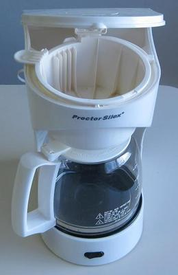 Proctor Silex 4 to 12 cup coffee maker model number 43501