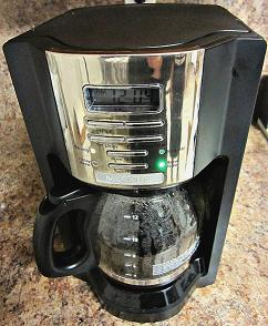 Programmable 12 Cup Mr. Coffee Maker